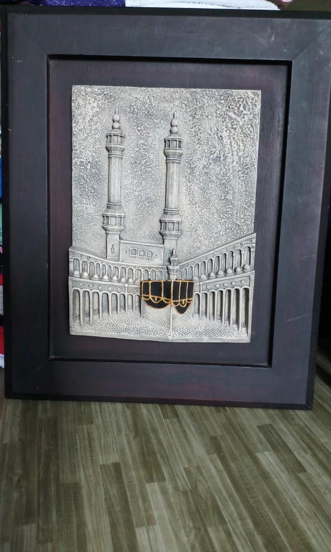 3D Mecca image frame, Furniture, Home Decor, Others on Carousell