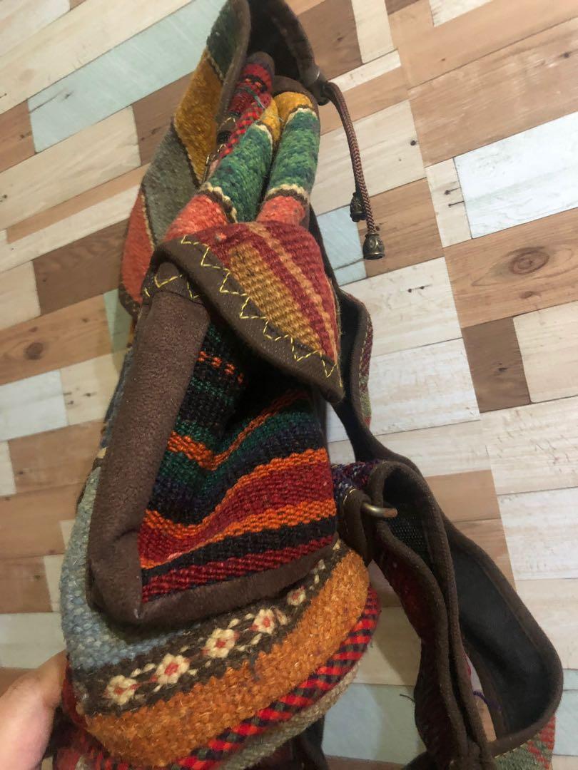 手織民族袋(購自伊朗)