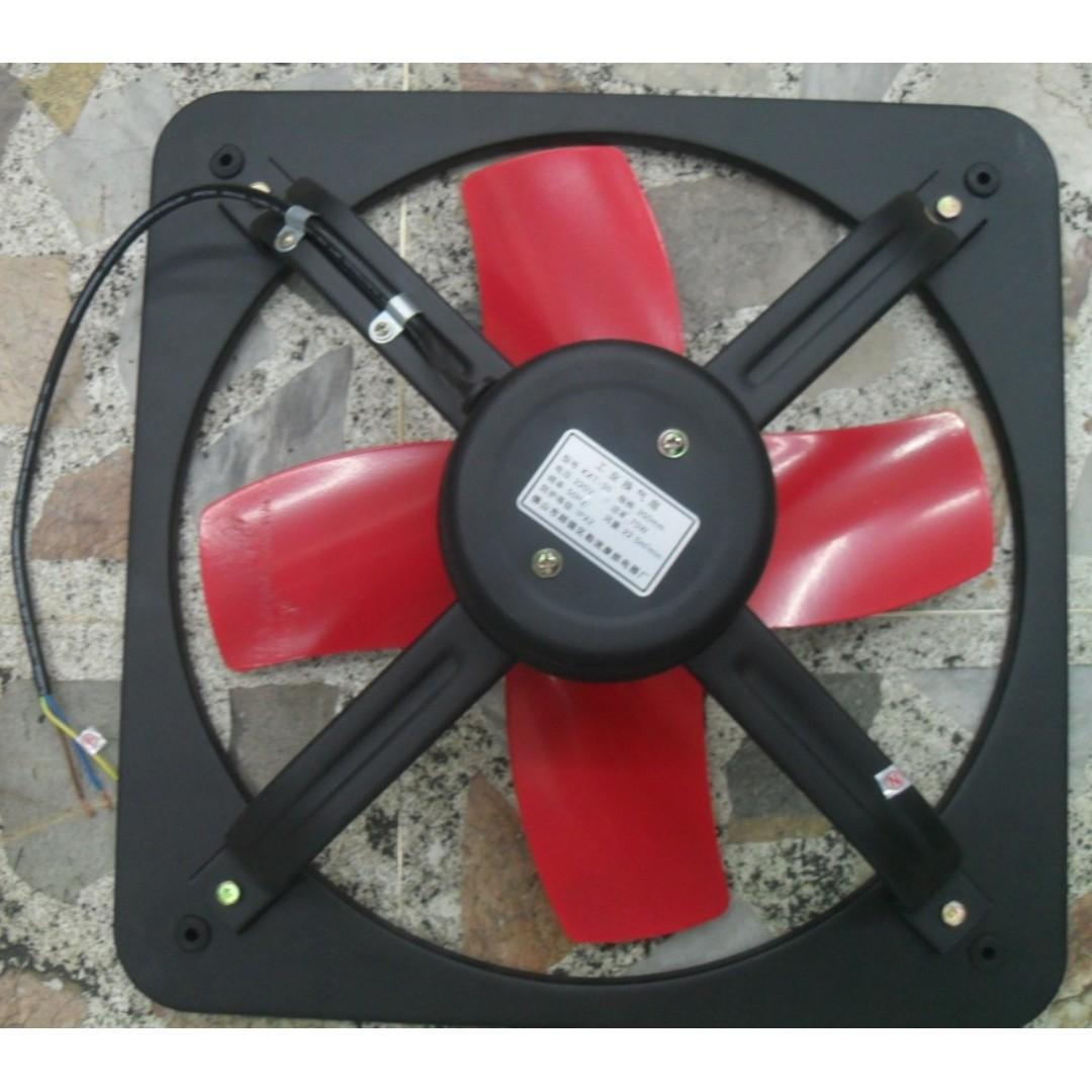 All metal exhaust fan industrial metal window heavy duty 20