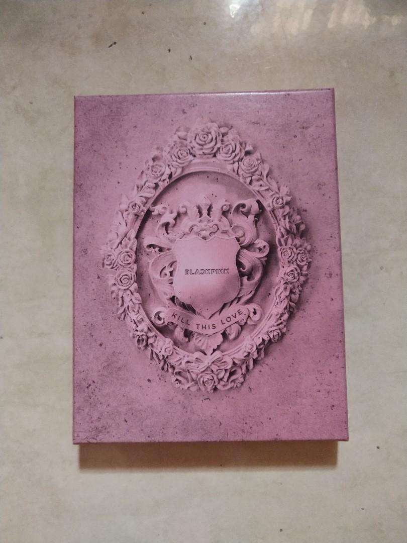 Blackpink Kill This Love Pink version unsealed full set