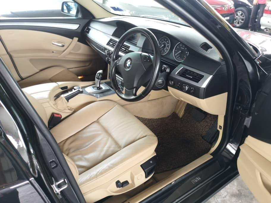 BMW525I 2.5AT LCI E60 HighSpec Model 2007TH Cash💰OfferPrice💲Rm32,800 Only‼LowestPrice InJB 🎉📲 Keong‼🤗
