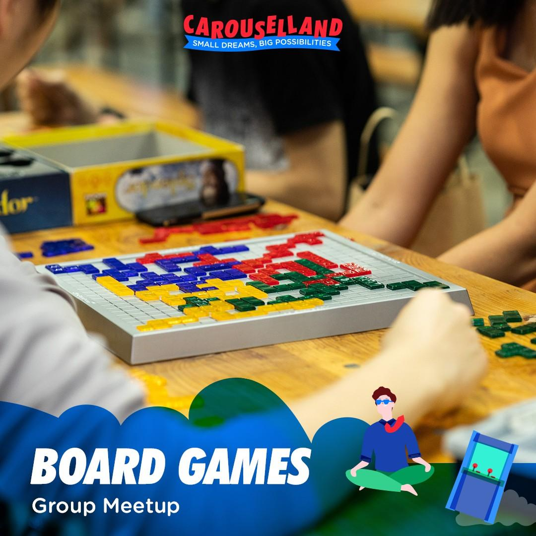 Board Games at Carouselland
