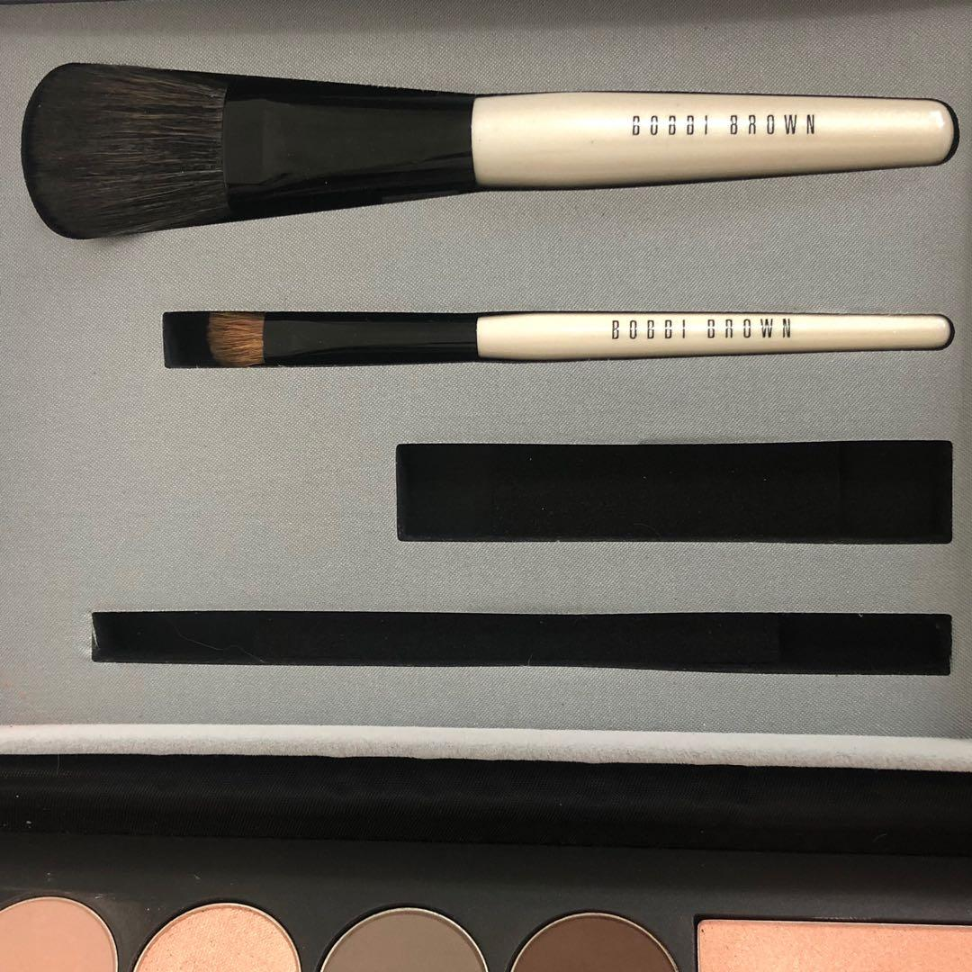 Bobbi brown holiday palette kit set brushes eyeshadow