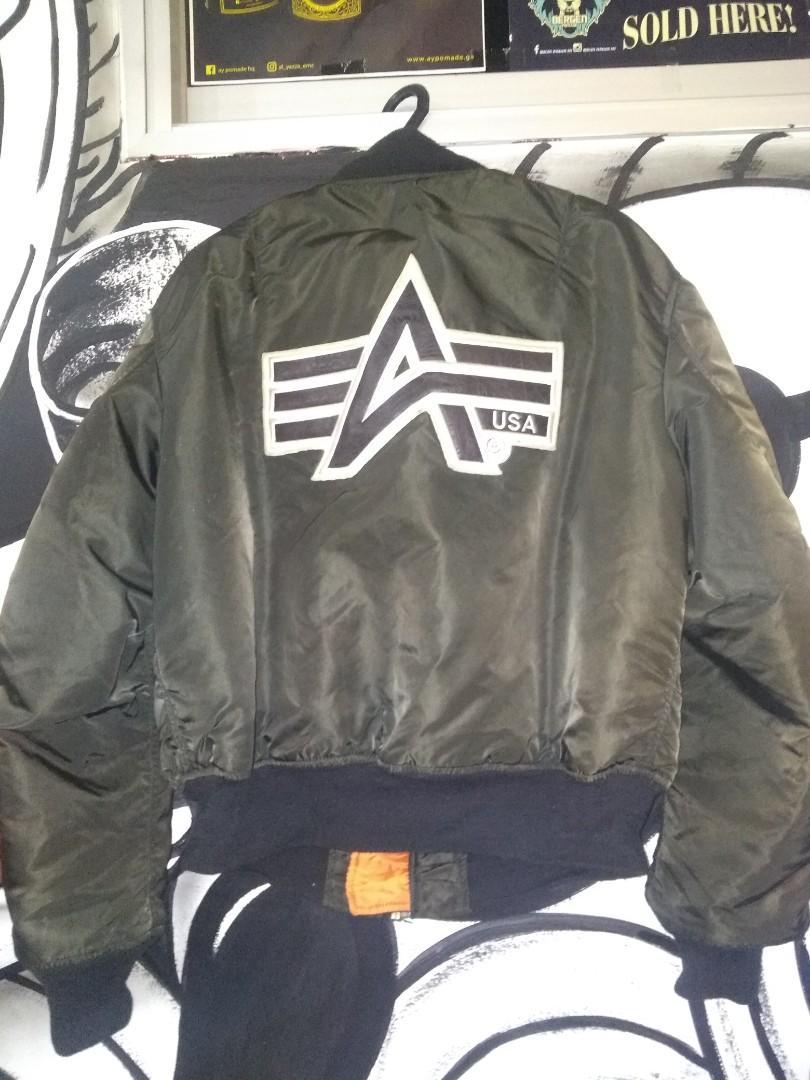 Bomber Flight Jacket Alpha