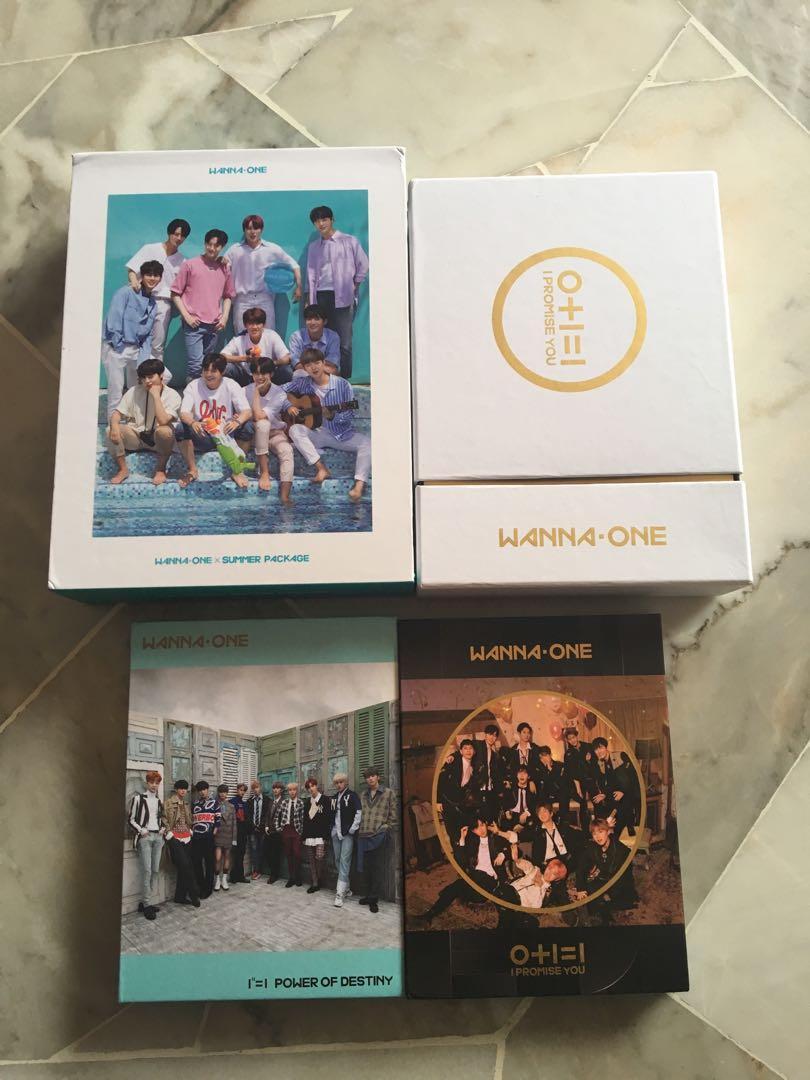 Clear stock‼️ Wanna One Merchandise Album/ Summer Package/ IPU