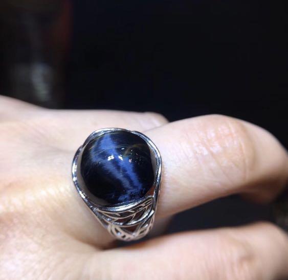 Collector's Edition - Round Petersite Gem Stone Ring  (珍藏品 - 圓行彼得石戒指男女款)