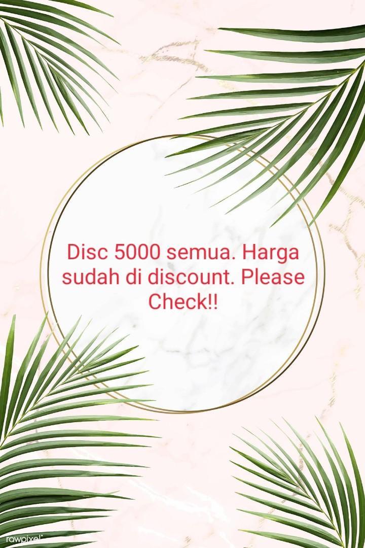 Disc 5000 all item