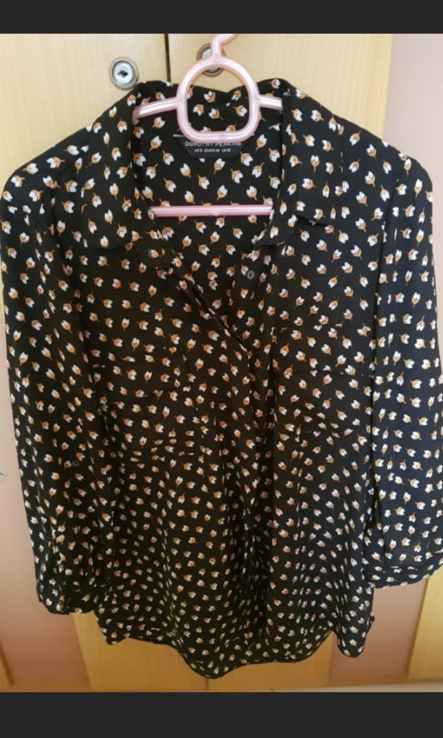 Dorothy Perkins flower blouse