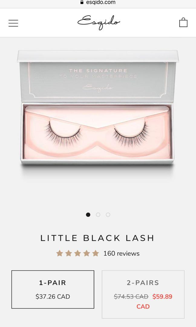 Esqido False Lashes - Little Black Lash (Pick Up Only)
