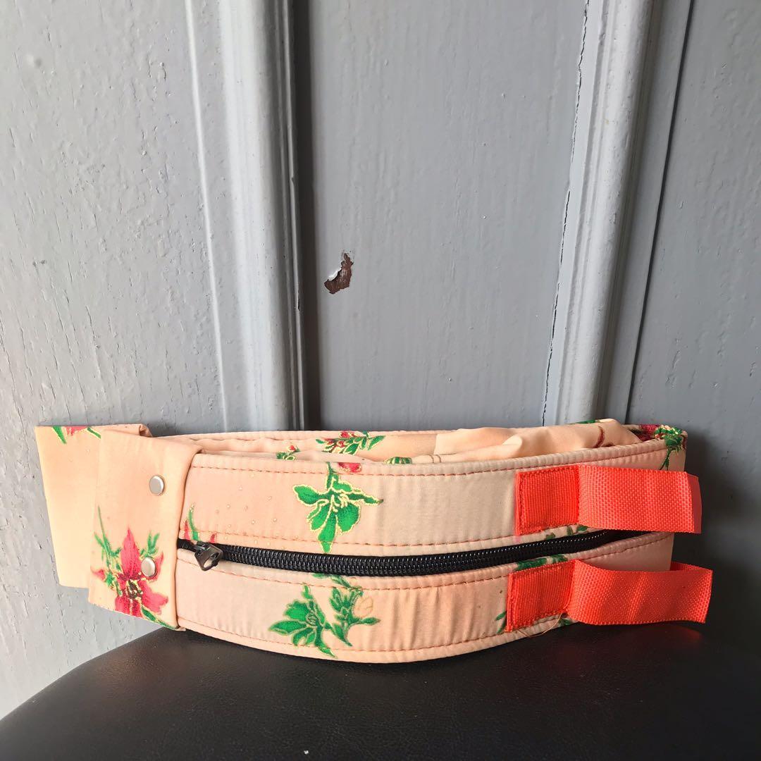Floral Foldable Zip Bag