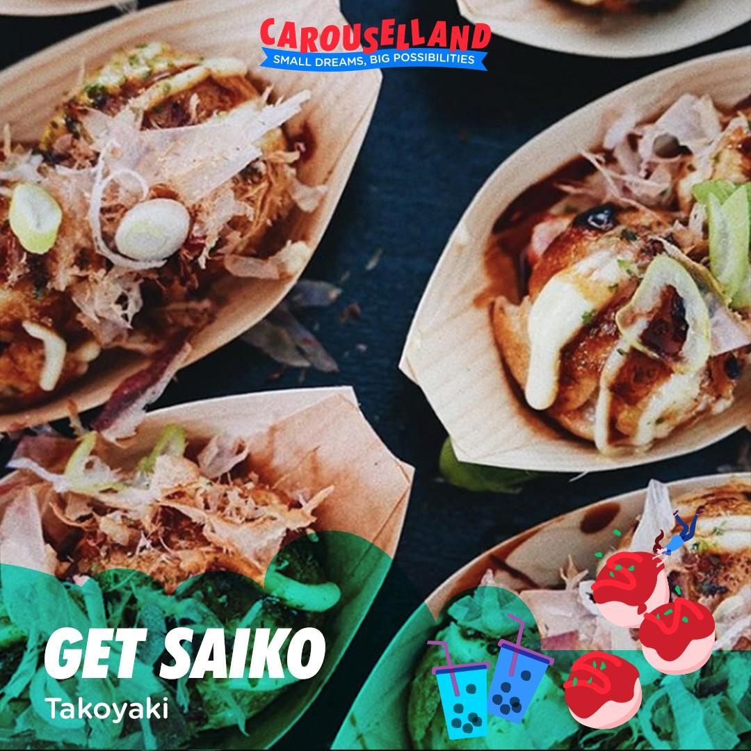 Get Saiko at Carouselland