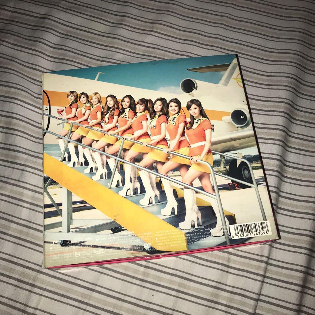 Girls Generation / SNSD - Girls & Peace 2nd Japan Album - Deluxe 1st Press Limited Edition