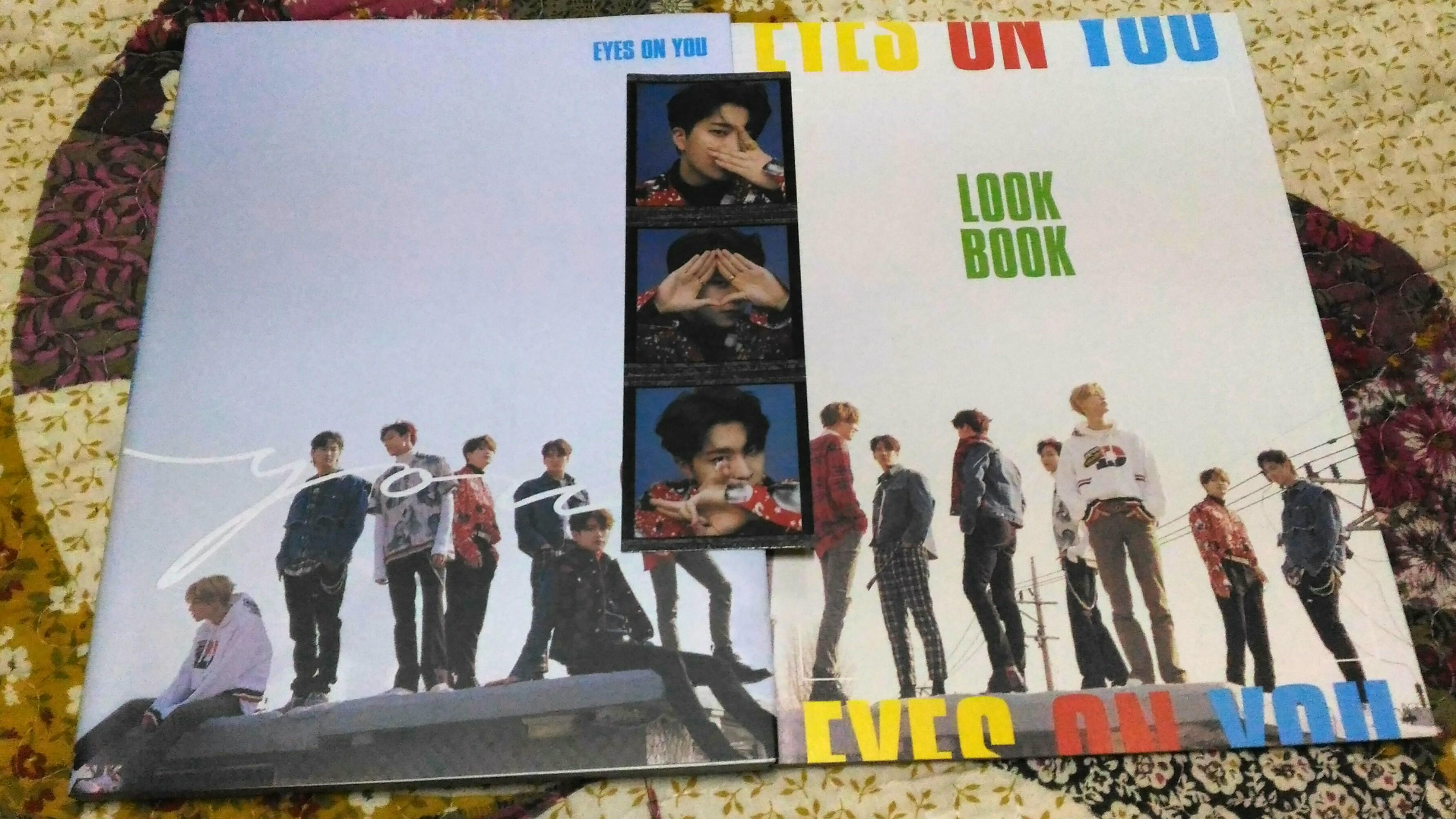 Got7 Eyes on you album  (You version) + Preorder Look book