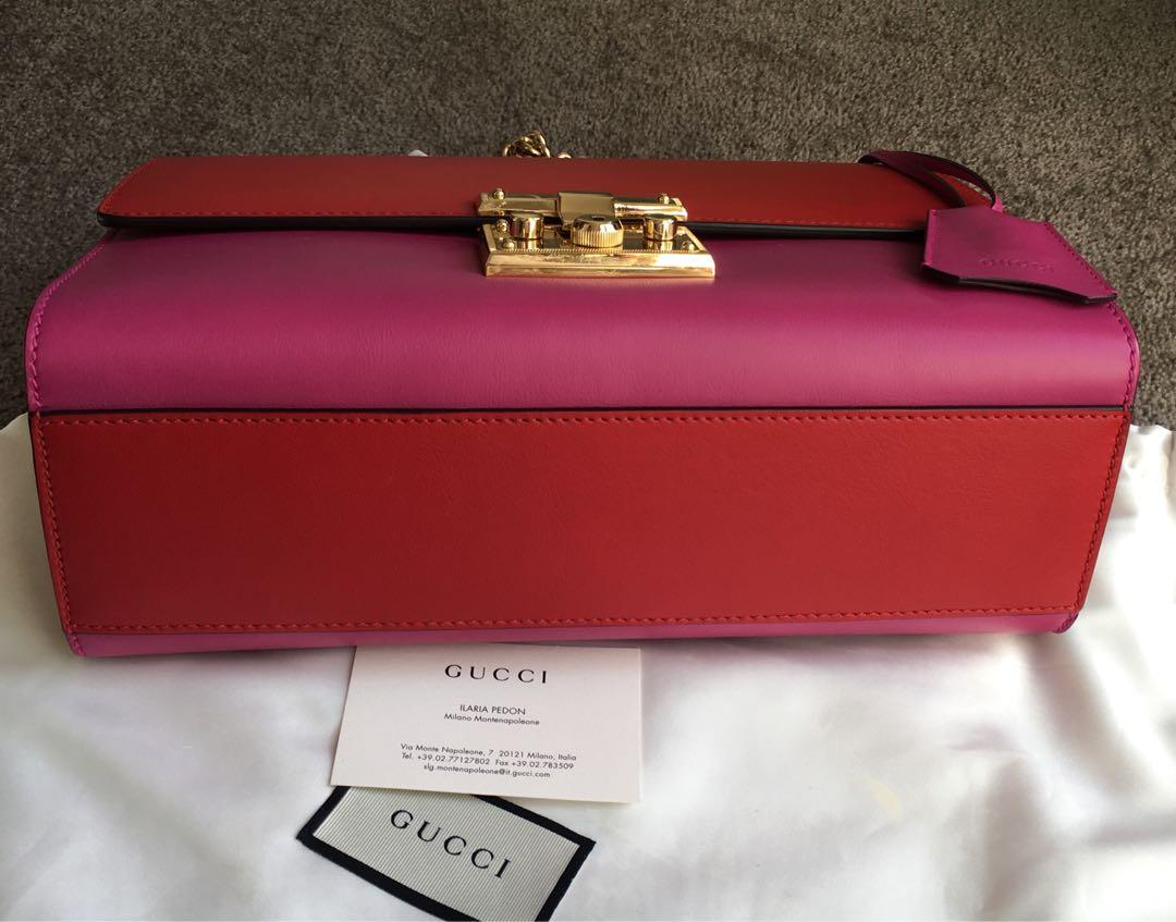 Gucci Padlock Medium shoulder bag