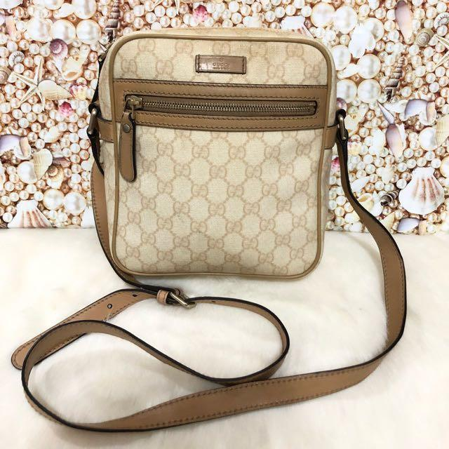 Gucci Sling bag authengic / tas gucci slempang cowo original branded