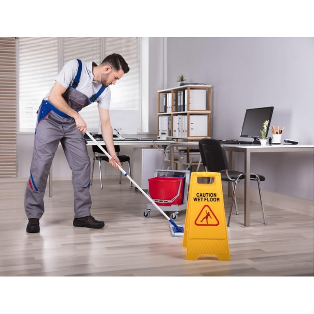 Hiring Part-Time Office Cleaner at Redhill