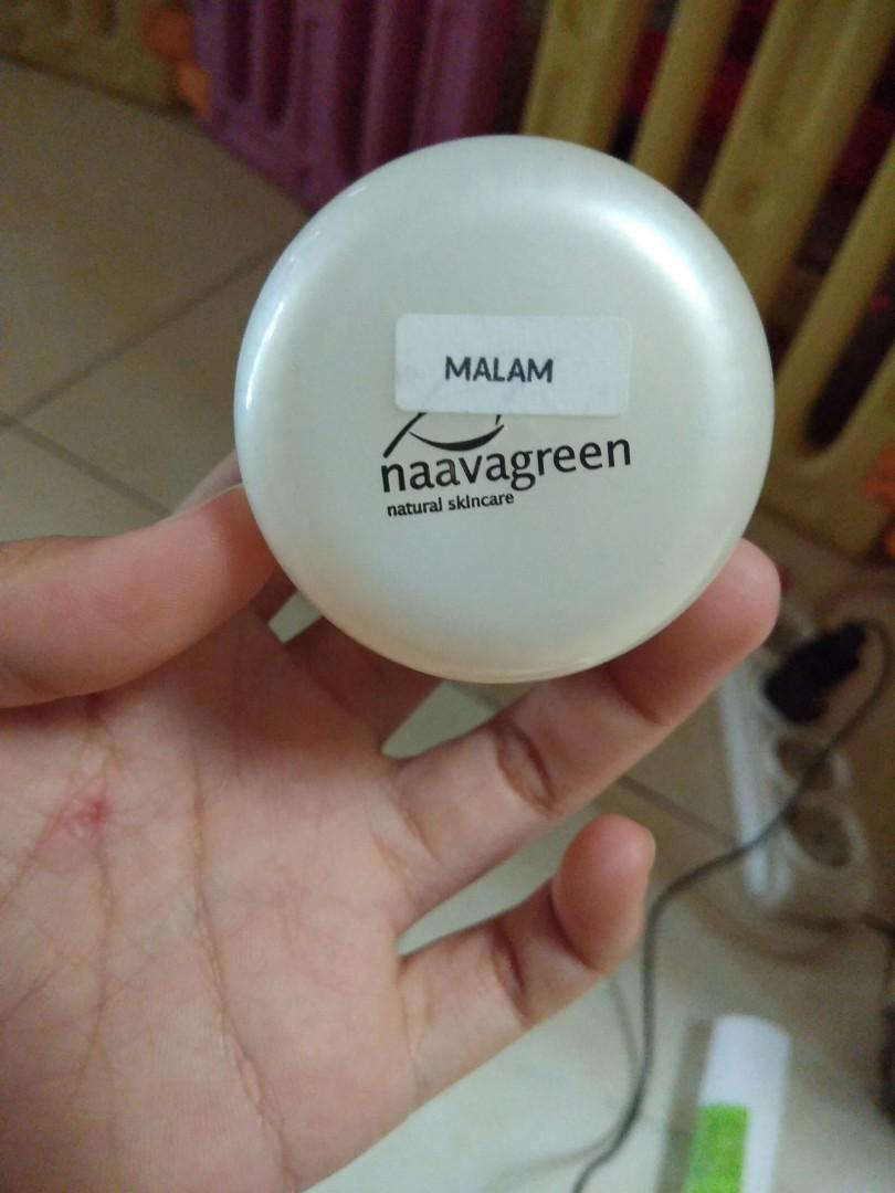 Krim malam naavagreen night whitening 2 (NG-W2)