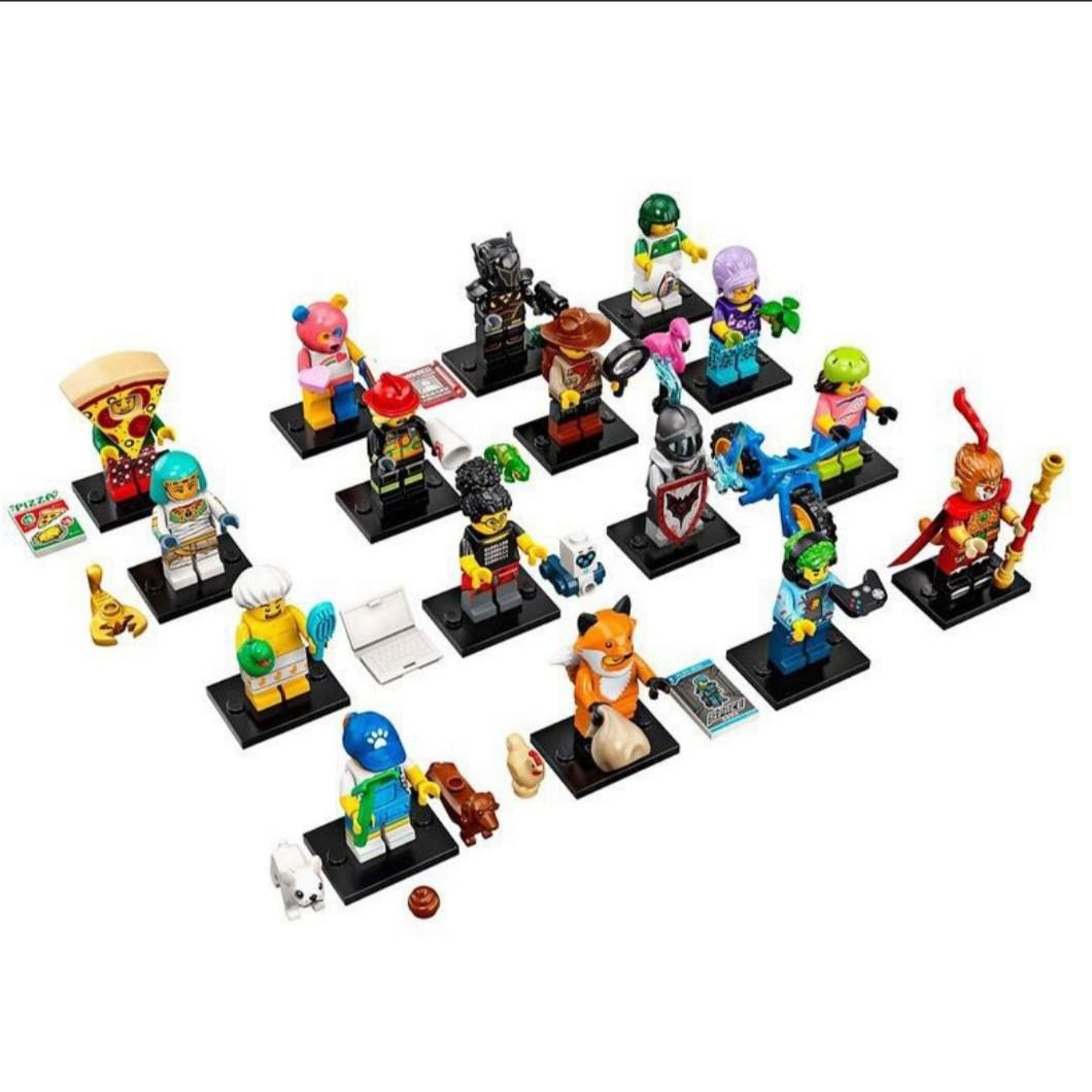 FREE SHIPPING SEALED PRE-ORDER LEGO 71025 Series 19 Minifigures Pick your Fig