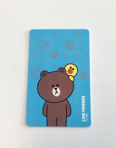 LINE FRIENDS -  ez-link card (no load value)