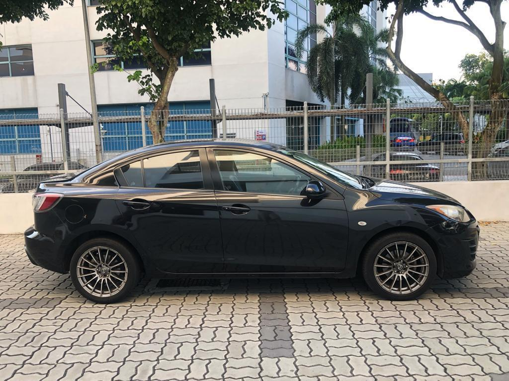 Mazda 3 1.6A *$170 after GoJek Rebate PHV Grab Ryde or Personal use