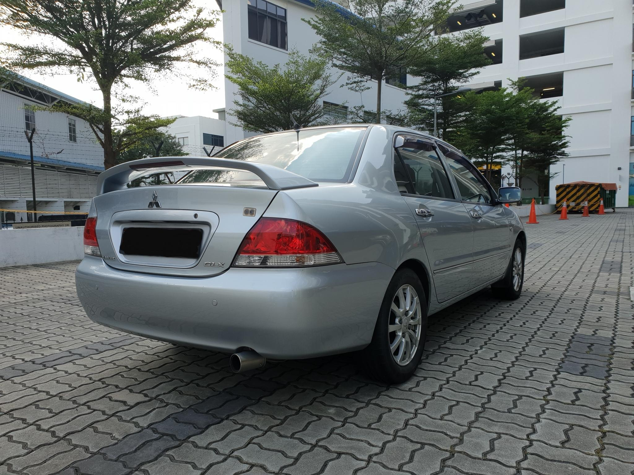Mitsubishi Lancer FOR RENT CHEAPEST RENTAL FOR Grab/Ryde/PersonalJ