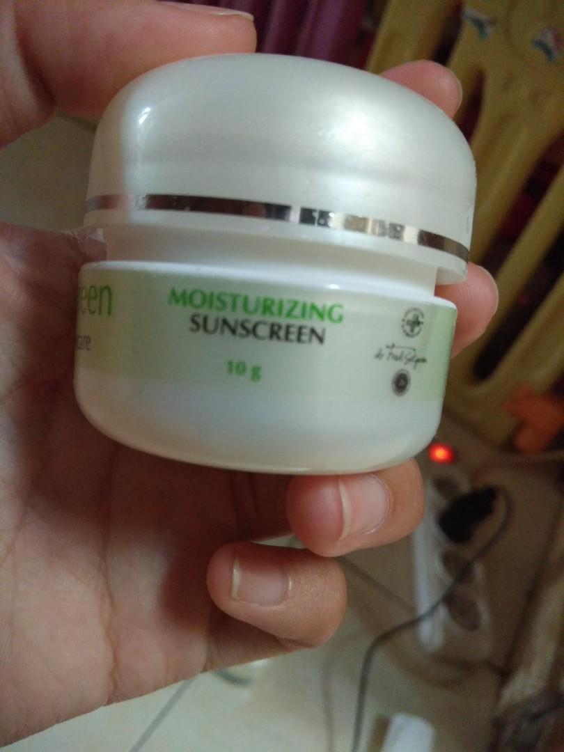 Moisturizing sunscreen naavagreen tirai 30+
