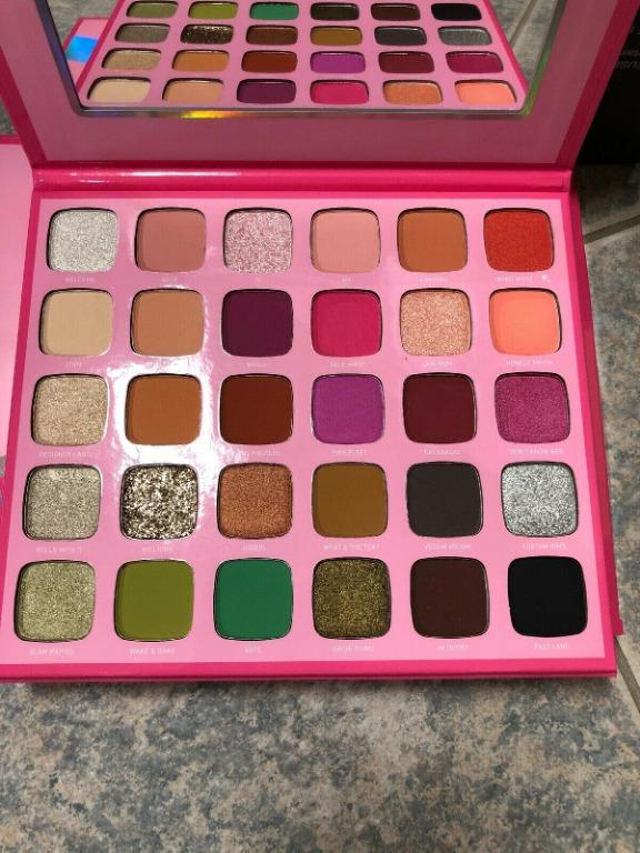 MORPHE x Jeffree Star Artistry Palette 30 Eyeshadows BRAND NEW & AUTHENTIC [PRICE IS FINAL]