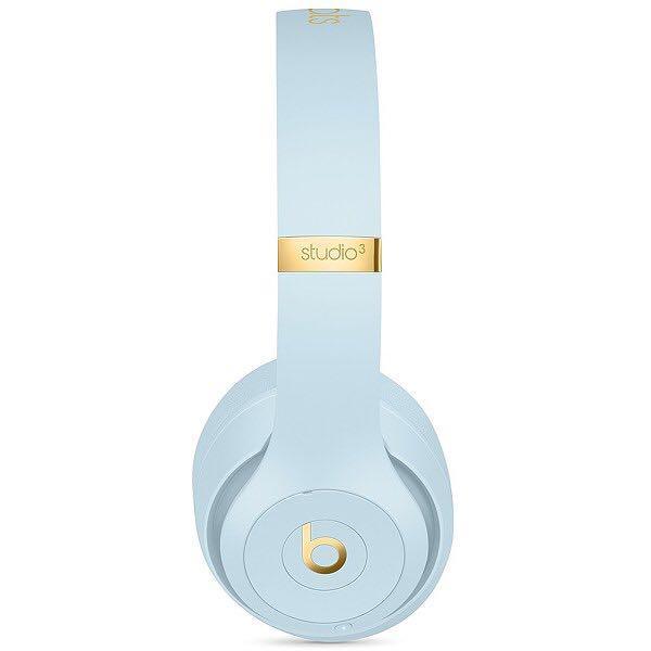 New Dr Beats Skyline Crystal Blue Wireless Bluetooth Ear phones head phones headphone audio surround stereo