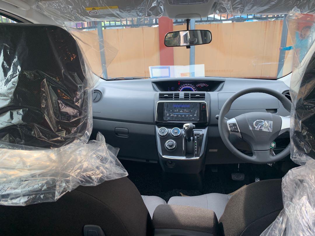 New Perodua Alza 1.5 (A) SE 2019 Car Rental Kereta Sewa