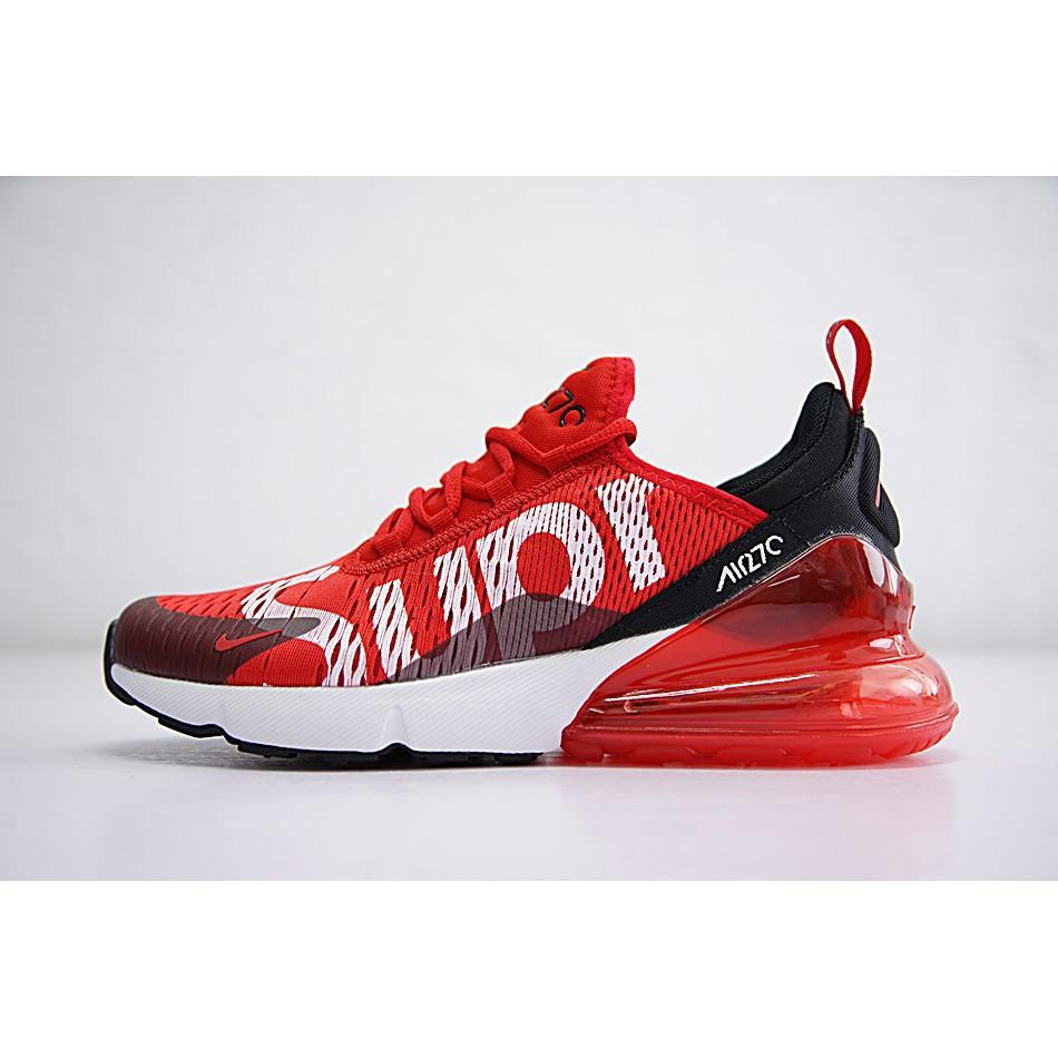 release date 1f49d 0bf28 Nike Air Max 270 x Supreme Shoes Men Airmax 27c Running ...