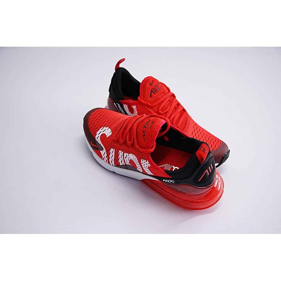 release date 64b61 73bb4 Nike Air Max 270 x Supreme Shoes Men Airmax 27c Running ...