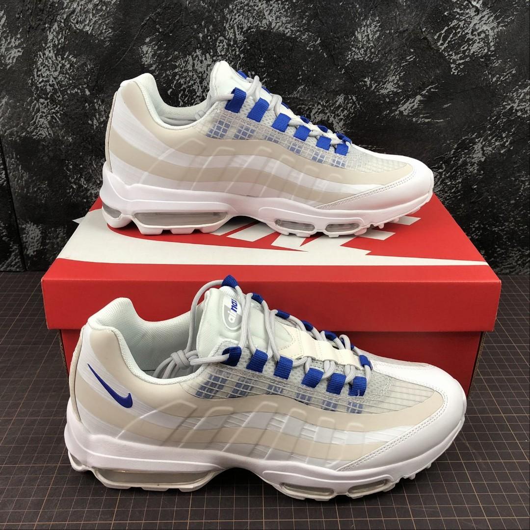 more photos 85aa1 1f6e9 Nike Air Max 95 ULTRA SE White Blue