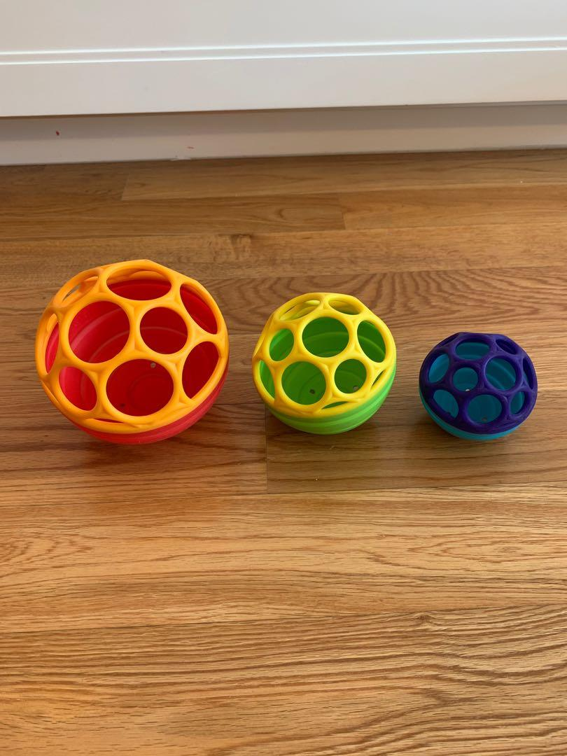 Oball Collapse /& Stack Balls