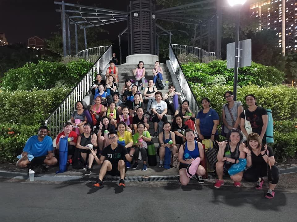 Outdoor Fitness @ S$38 eight sessions