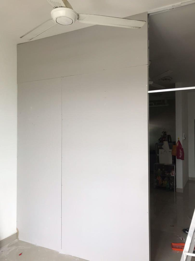 Partition DryWall Plastering and Painting Works