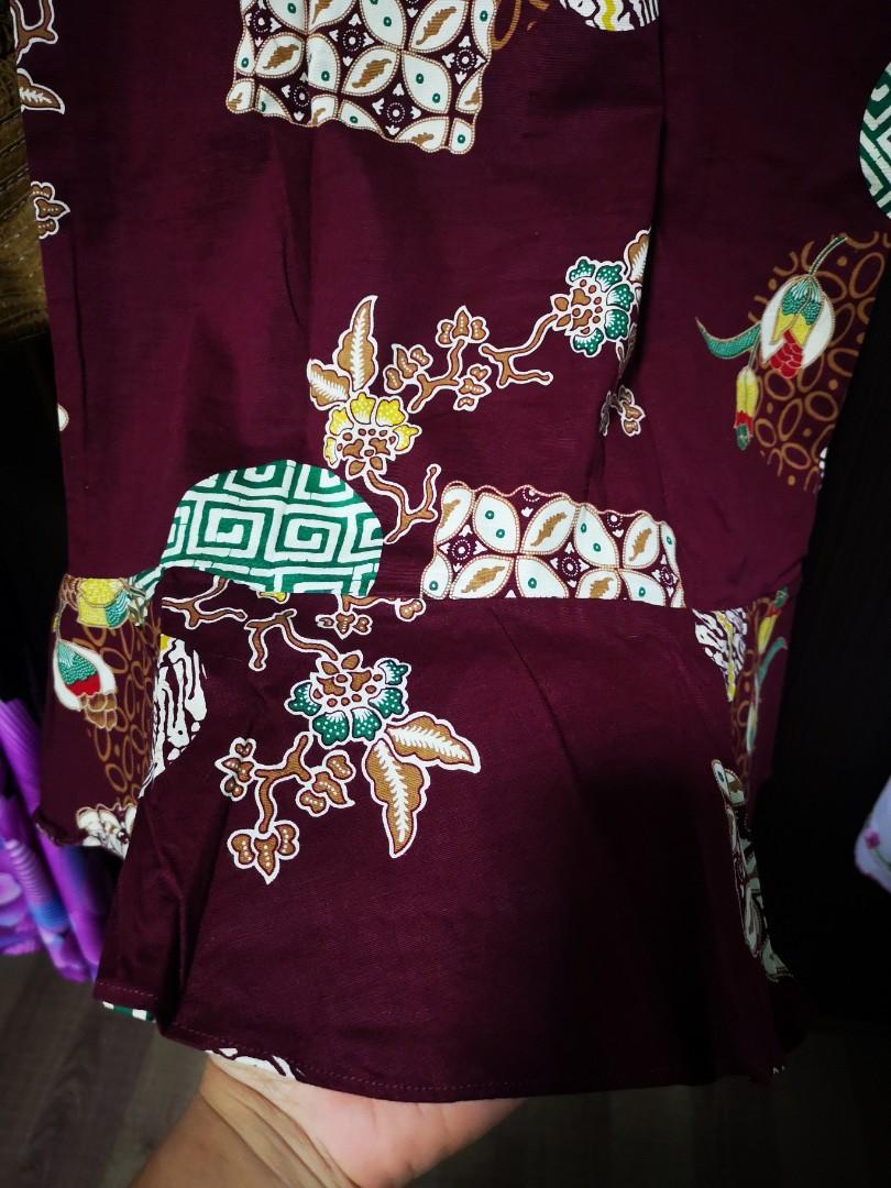 Plus Size Batik Mermaid Dress