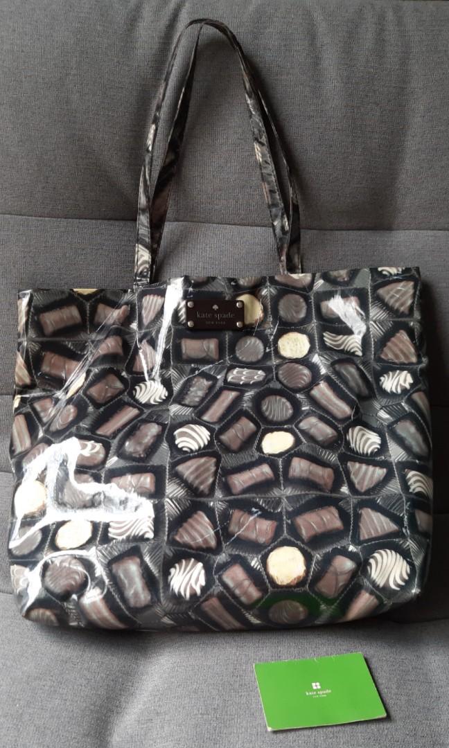 Preloved Kate Spade Bon Shopper Tote Bag #lalamovecarousell #hbdcarousell