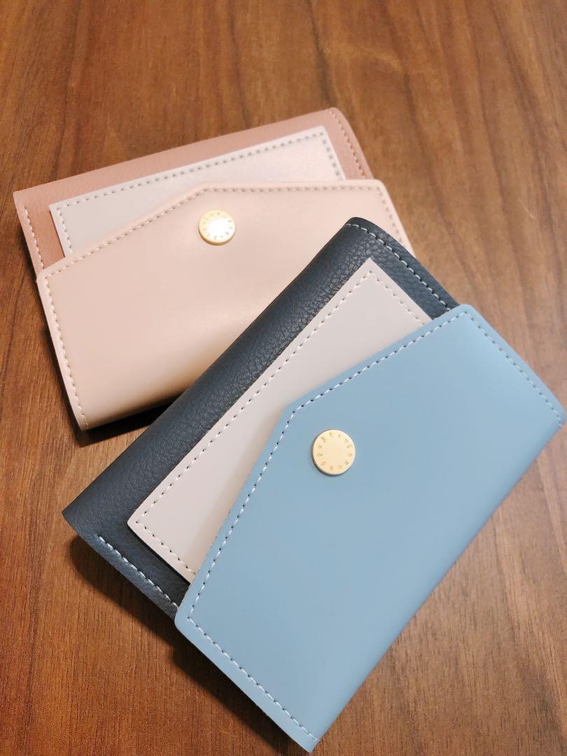 [preorder] Two tone Wallet 拼色短款銀包