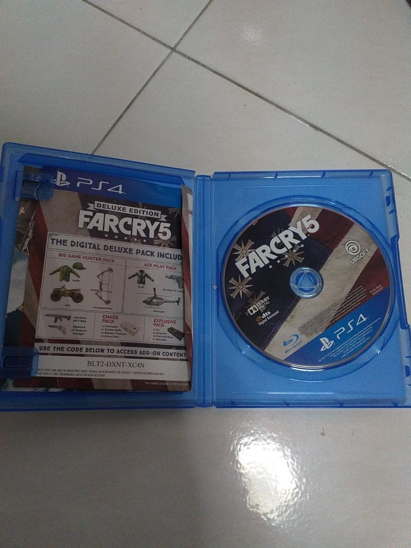 Ps4 Far Cry 5, Toys & Games, Video Gaming, Video Games on