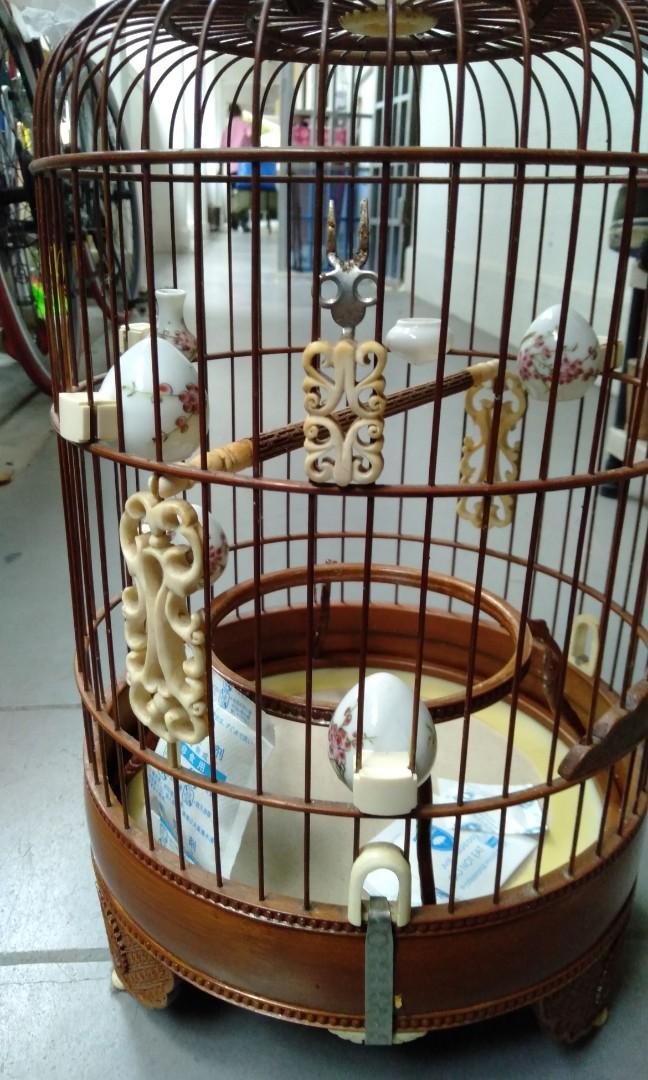 ABC Puteh cage white all ivory (no cup