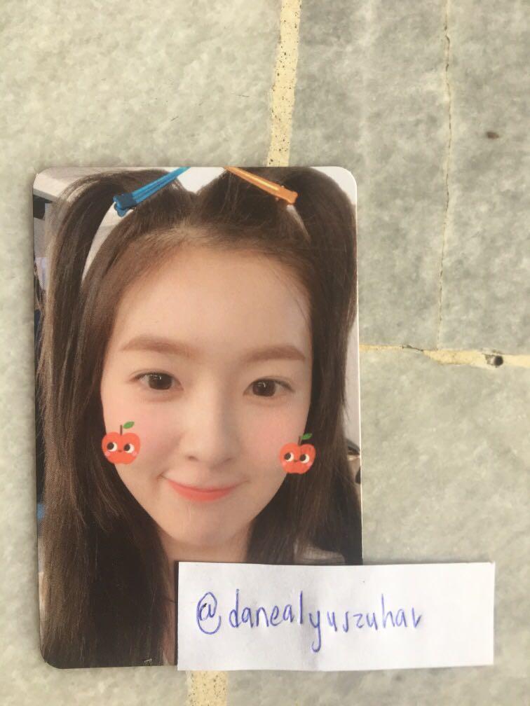Red Velvet Irene Summer Magic Limited Normal Photocard