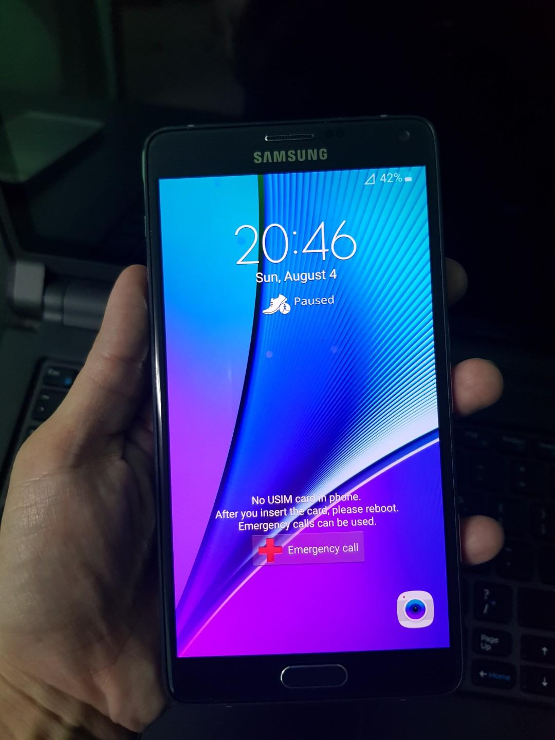 Samsung Note 4 (Localized Rom) on Carousell