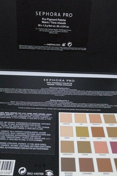 Sephora Collection Sephora Pro Warm Eyeshadow Palette 28 x 1.2g NEW IN BOX + AUTHENTIC [PRICE IS FIRM] FREE SHIPPING