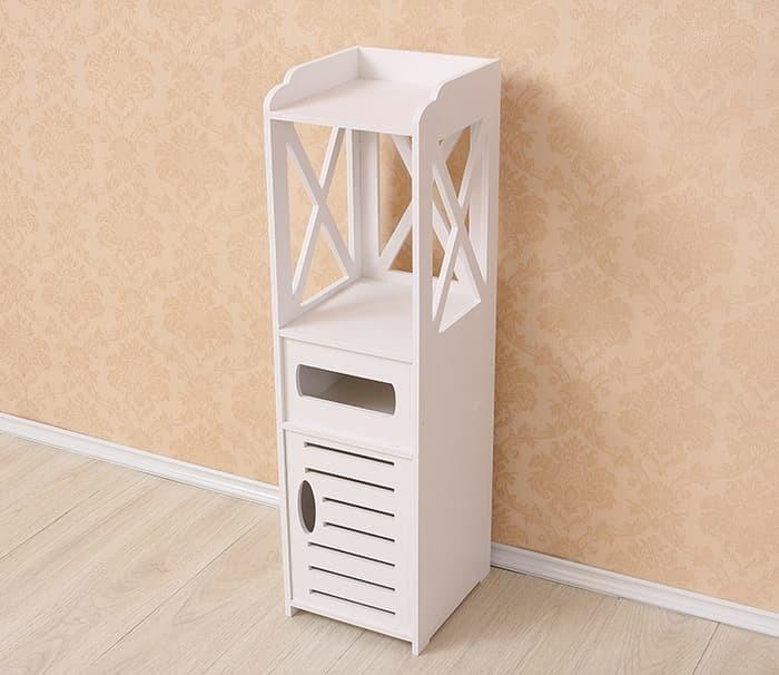 Side Cabinet Continental / Rak Penyimpanan shabby chic