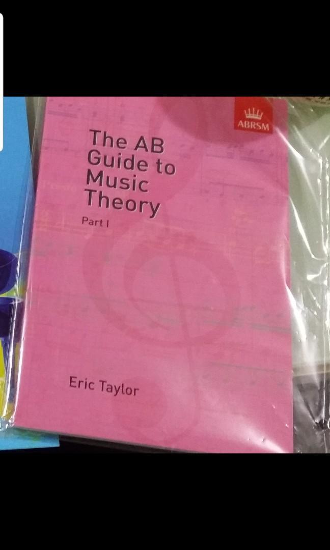 全新Theory book樂理書 ABRSM考試 AB Guide