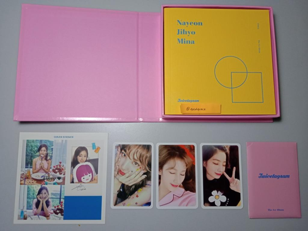Twice - Twicetagram (A/Pink ver) (WTS)