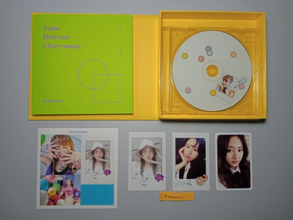 Twice - Twicetagram (B/Yellow ver) (WTS)