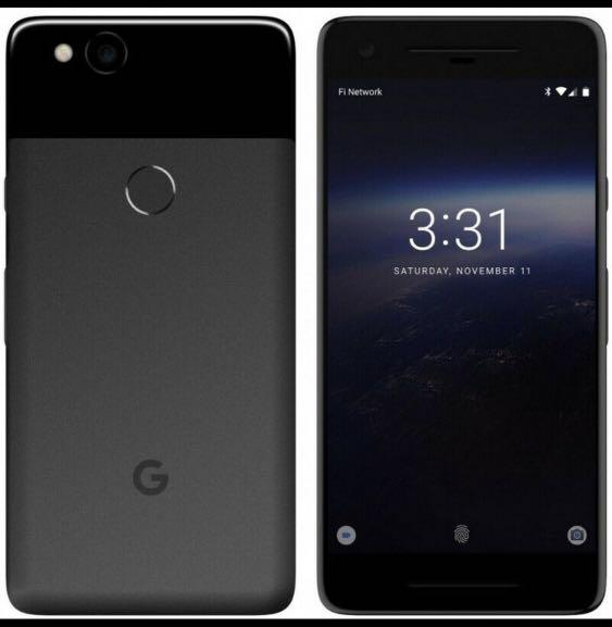 Unlocked packed box Google Pixel 2xl 64gb with warranty