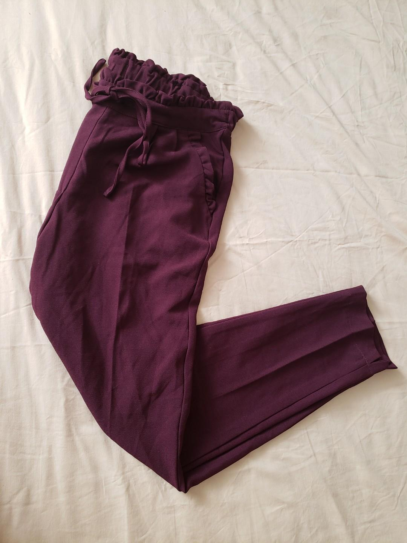 drawstring bottom pants size small