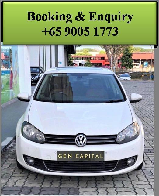 Volkswagen Golf - Lowest rental rates, good condition!